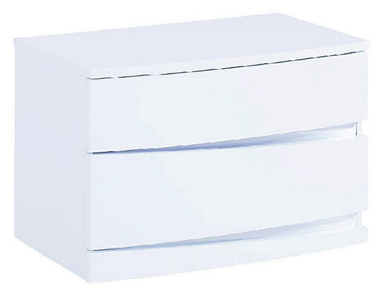 Global United Wynn - Nightstand in White Color.