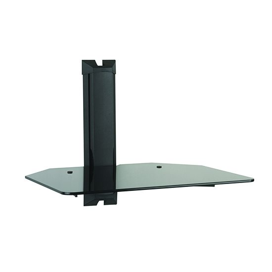 Omnimount Mod1 1 Shelf Wall System In Black Color
