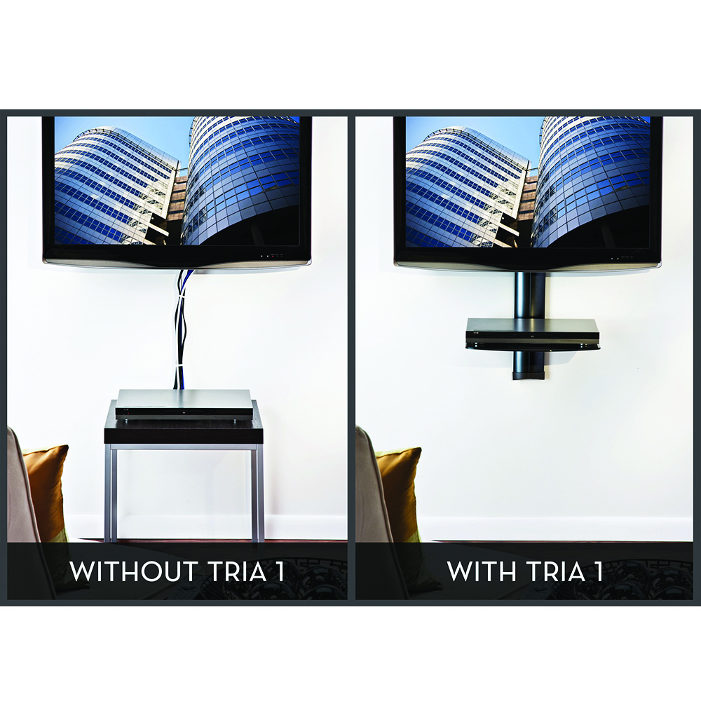 Omnimount Tria 1 Wall System With Cable Management And 1