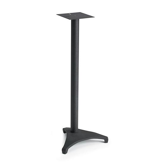 SANUS EF28 Euro Series 28 Inches Tall For Small To Medium Bookshelf Speakers In Black Finish
