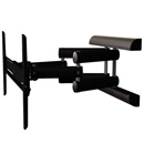 "ProMounts UA-PRO310 Articulated Wall Mount for 30"" - 63"" Plasma, LCD TVs in Black color."