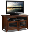 "Tech Craft EOS4828 Walnut TV Stand up to 50"" TVs. Tech-Craft-EOS4828"