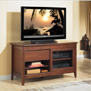 "Tech Craft NCL48 Walnut TV Stand up to 50"" TVs. Tech-Craft-NCL48"