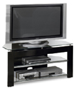 "Tech Craft PTV483B TV Stand up to 50"" TVs. Tech Craft PTV483B"