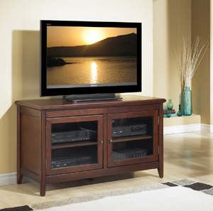 Tech Craft TCL5028 Walnut TV Stand up to 50