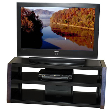 Techcraft Wqf48 48 Tv Stand Accommodates Most 50 And Smaller