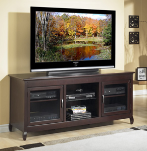 Tech Craft XLN62 Espresso TV Stand up to 65