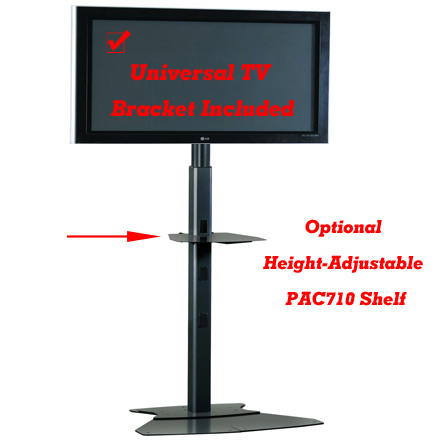 Chief PF1UB or PF1US Large Flat Panel Floor Stand for 42