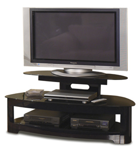 Tech Craft BW25125B TV Stand up to 50