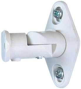 Universal Satellite Speaker Mount (White)