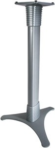 Soundstage™ Bookshelf Speaker Stand (Silver)
