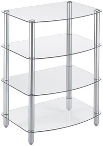 4 Shelf Audio Stand